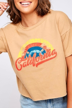 Peach Love California California Graphic Tee - Alternate List Image
