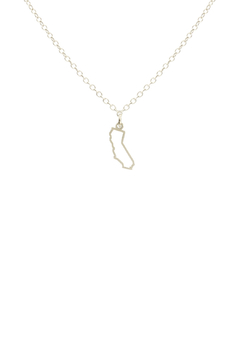 Kris Nations California Outline Small Necklace - Alternate List Image