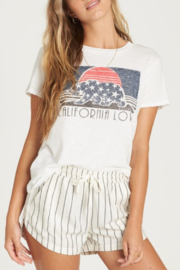 Billabong California Stars Graphic Tee - Product Mini Image