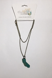 Gleeful Peacock California State Necklace - Product Mini Image