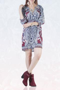Shoptiques Product: Belted Tunic Dress