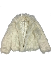 California Moonrise White Fur Jacket - Product Mini Image