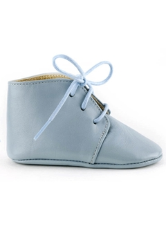 Shoptiques Product: Calisson Baby Blue Leather Shoe