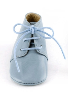 Sophie la Girafe Calisson Baby Blue Leather Shoe - Alternate List Image