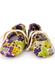 Sophie la Girafe Calisson Lilas Shoes 3-6 mo - Front cropped