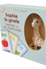 Calisson Inc Sophie Teether Flashcards - Product Mini Image