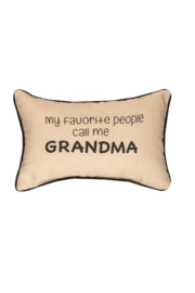 Manuel woodworkers and weavers Call Me Grandma Pillow - Product Mini Image