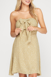 She and Sky Call Me Sweetheart dress - Front cropped