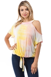 Vava by Joy Hahn Calla Tie-Dye Top - Product Mini Image