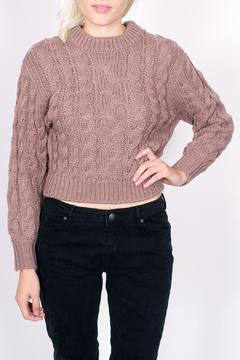 Shoptiques Product: Braided Crop Sweater