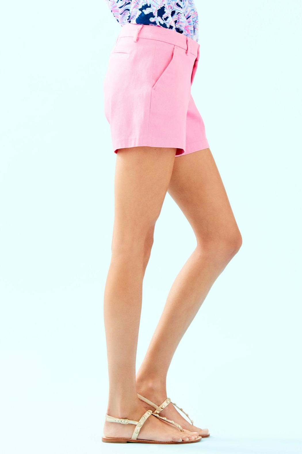Lilly Pulitzer Callahan Stretch Short - Side Cropped Image