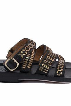 Calleen Cordero Studded Leather Sandals - Alternate List Image