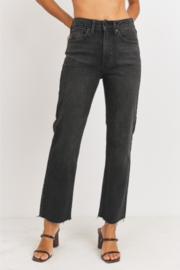 JBD Callie High Rise Straight Leg Jeans - Product Mini Image