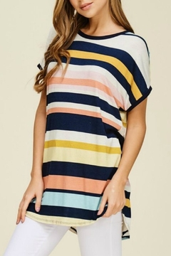 Shoptiques Product: Callie Stripe Tunic
