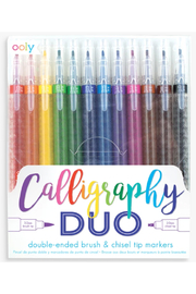 Ooly Calligraphy Duo Chisel and Brush Tip Markers - Product Mini Image