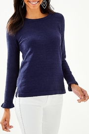 Lilly Pulitzer Calloway Chenille Sweater 004498 - Front cropped