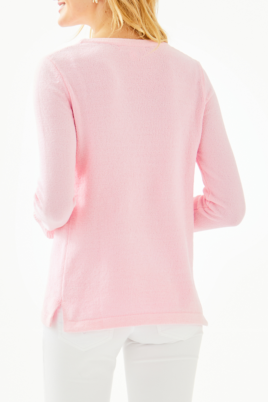 Lilly Pulitzer Calloway Chenille Sweater 004498 - Side Cropped Image