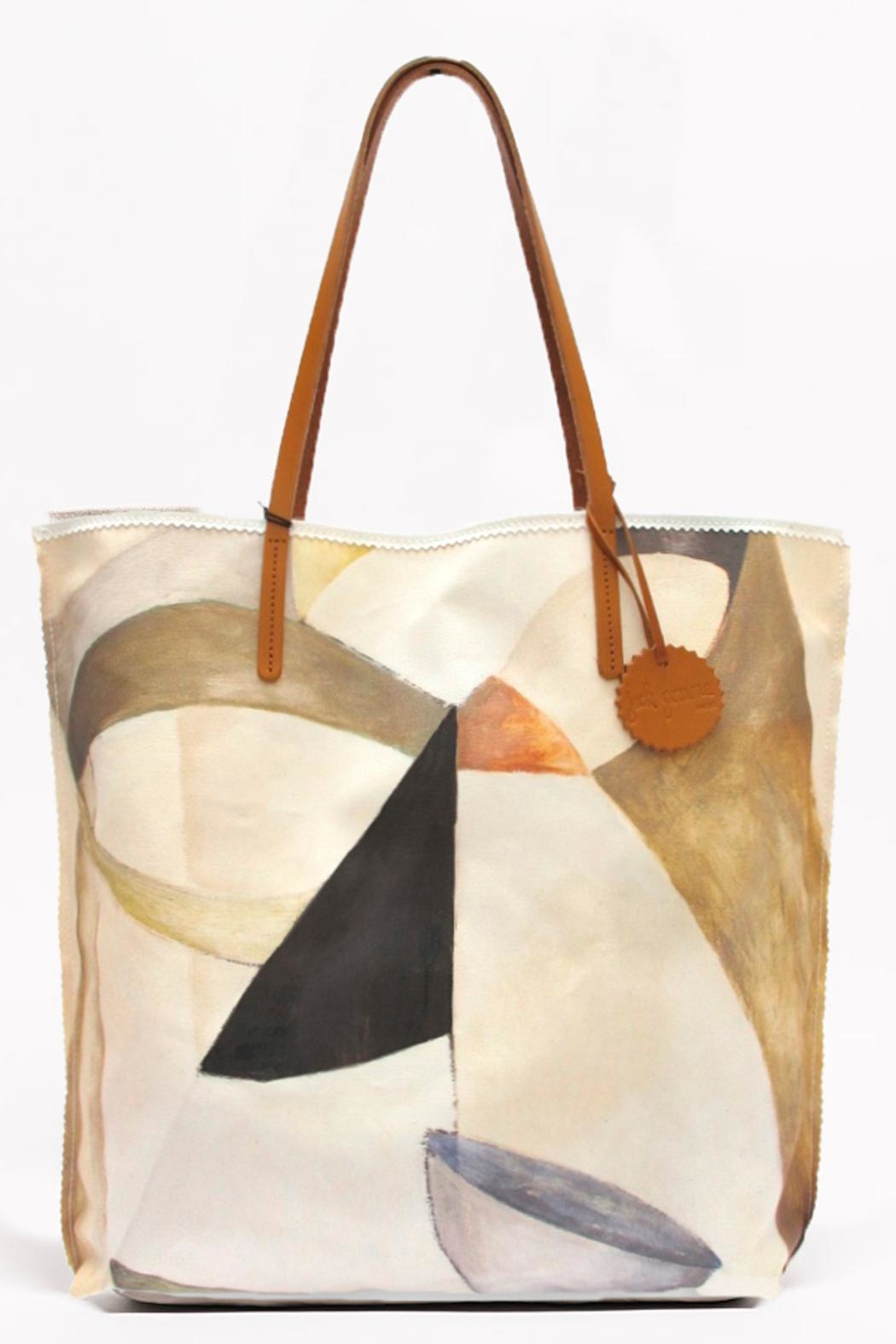 Jack Gomme Calm Print Tote - Main Image