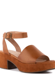 Seychelles  Calming Influence Leather Sandals - Product Mini Image