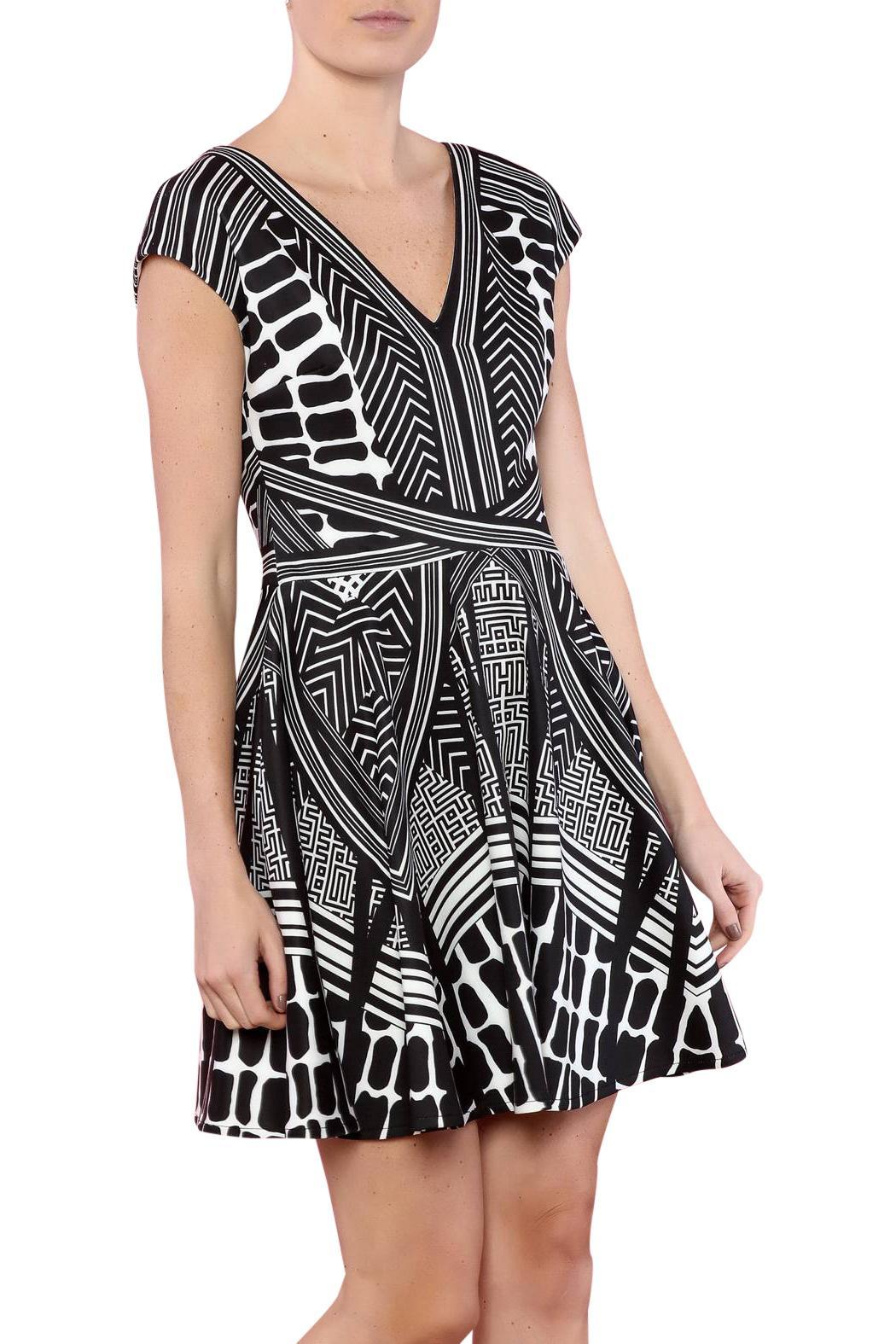 CALORE Geo Print Dress - Main Image