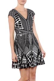 CALORE Geo Print Dress - Product Mini Image
