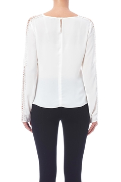 CALORE Lace Trim Blouse - Alternate List Image