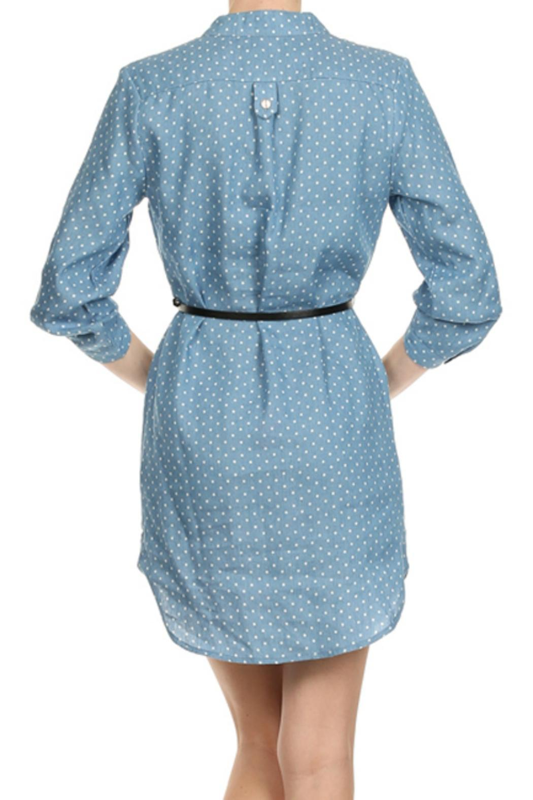 cals belted denim dress from kentucky by cocabelle