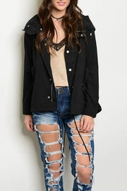 CALS Black Utility Jacket - Product Mini Image