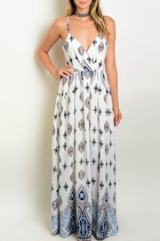 CALS Crisscross Maxi Dress - Product Mini Image
