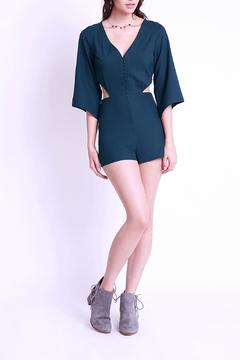 Shoptiques Product: Deep Green Romper