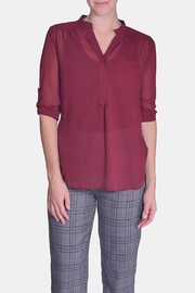 CALS Everyday Sheer Blouse - Product Mini Image