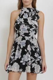 CALS Floral Chiffon Dress - Front cropped