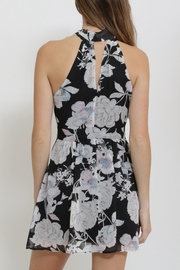 CALS Floral Chiffon Dress - Side cropped