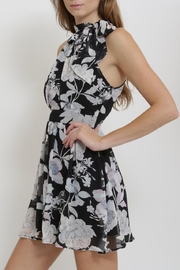 CALS Floral Chiffon Dress - Front full body