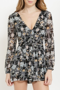 CALS Floral Chiffon Romper - Product List Image