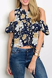 CALS Floral Crop Top - Product Mini Image
