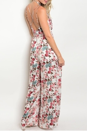 CALS Floral Strap Jumpsuit - Front full body