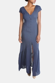 CALS Button Down Maxi Dress - Front full body