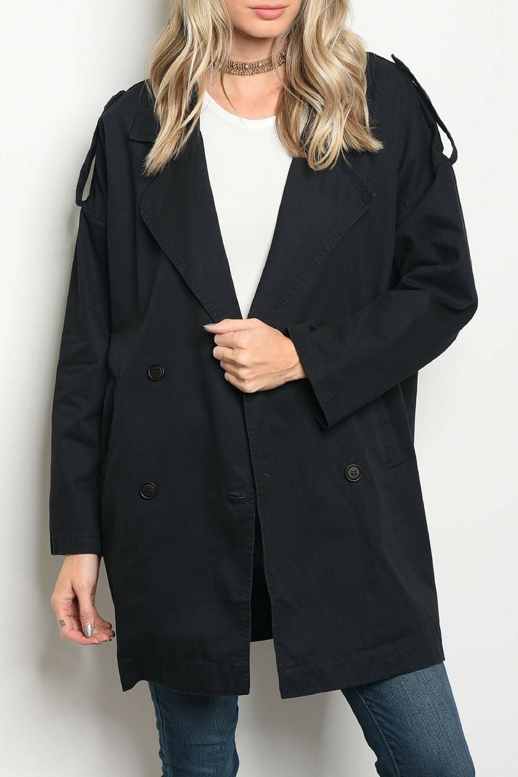CALS Navy Button Jacket - Main Image