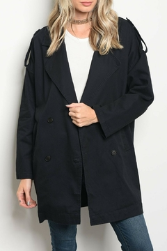 CALS Navy Button Jacket - Product List Image