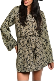 CALS Bell Print Dress - Front cropped