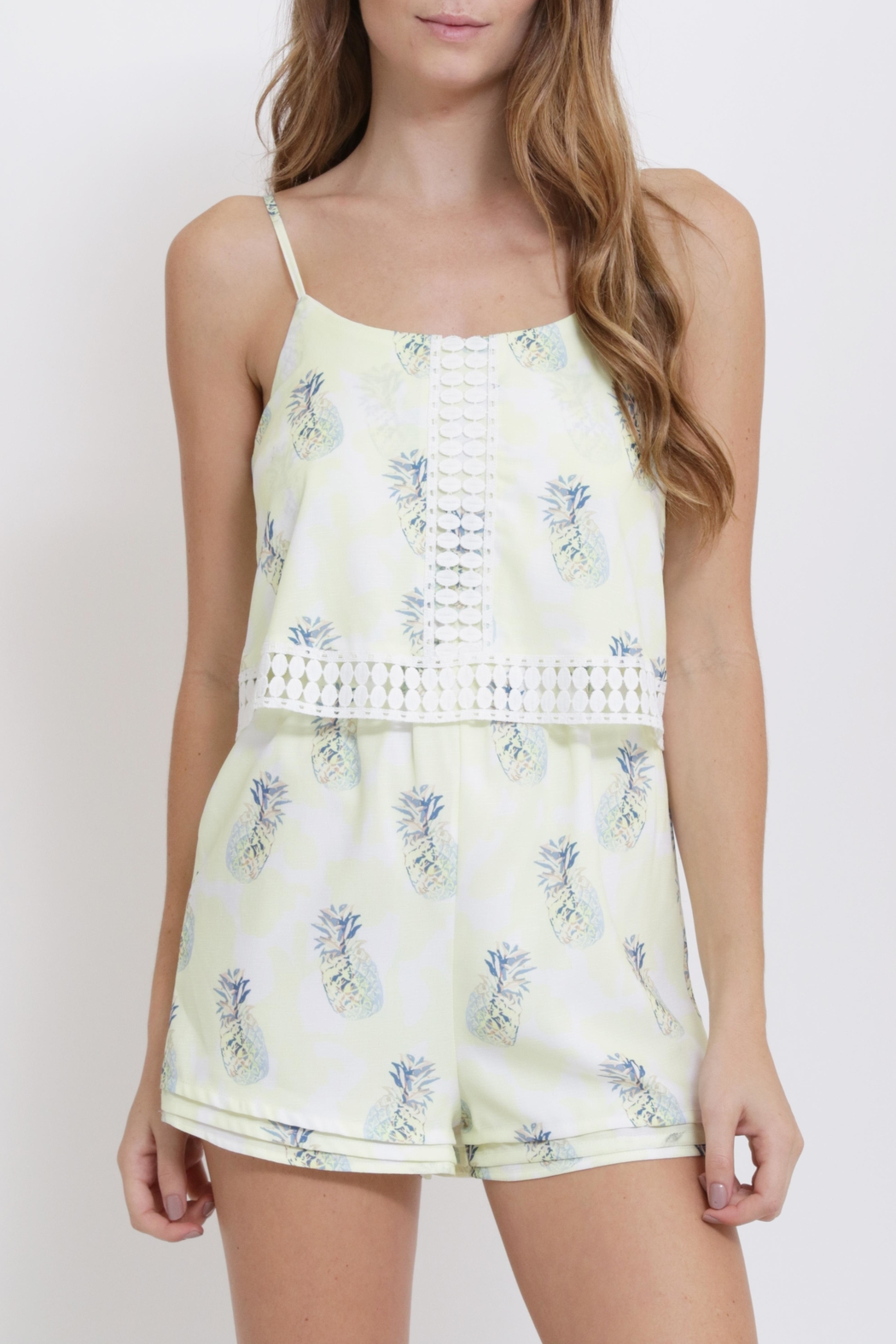 aedf32a61 CALS Pineapple Print Romper from California by YUNI — Shoptiques