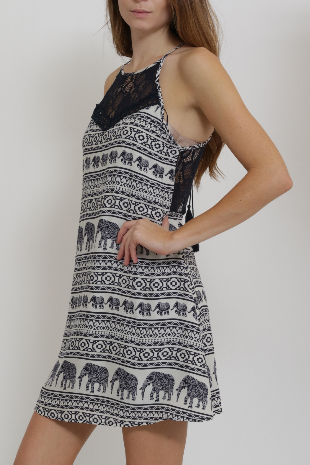 CALS Printed Easy Dress - Side Cropped Image