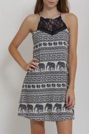 CALS Printed Easy Dress - Product Mini Image