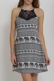 CALS Printed Easy Dress - Front full body