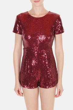 Cals Collection Starry Sequin Romper - Product List Image