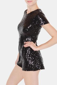 Cals Collection Starry Sequin Romper - Alternate List Image