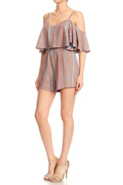 Cals Collection Stripe Romper - Product Mini Image