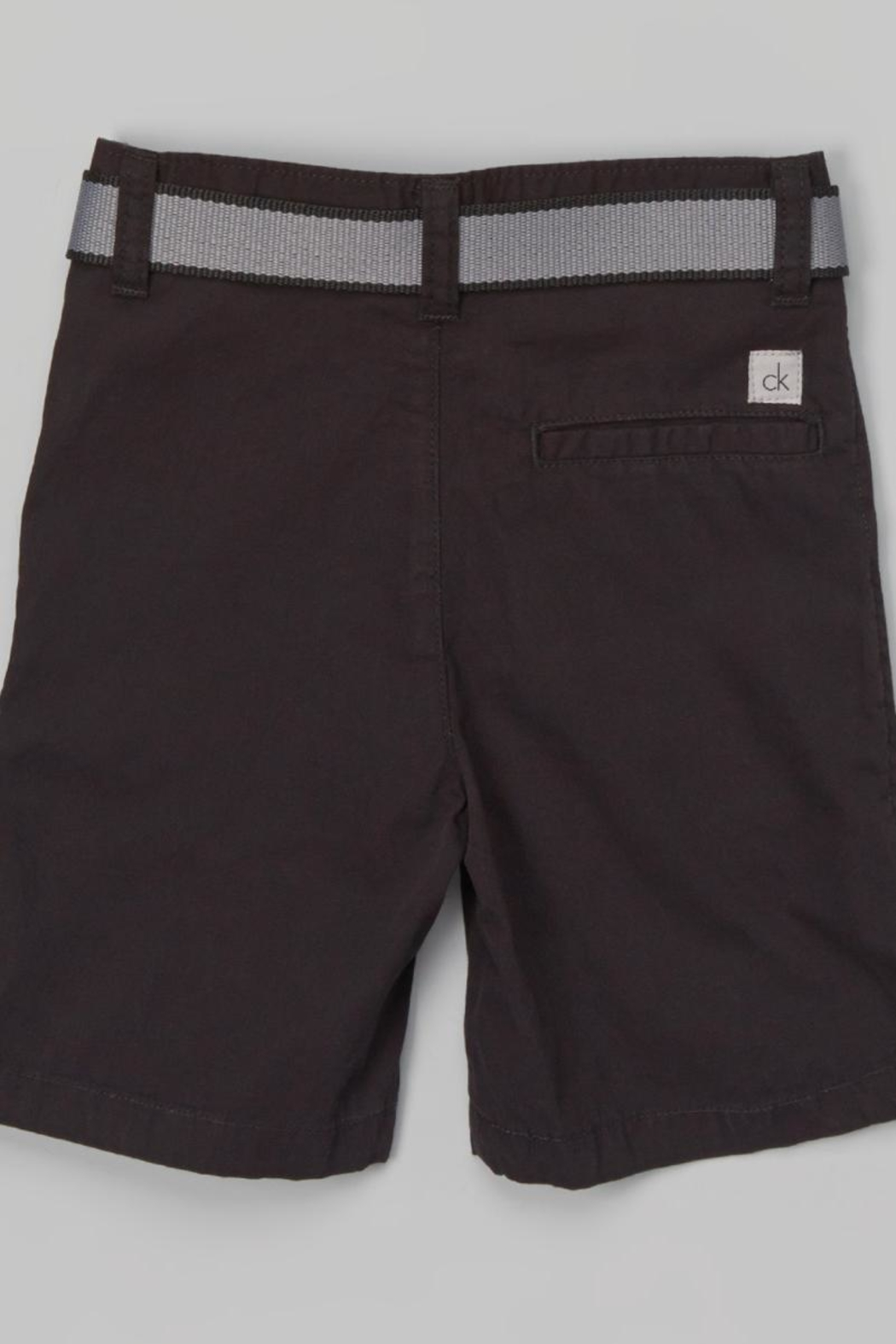 Calvin Klein Jeans Boys Belted Shorts - Front Full Image