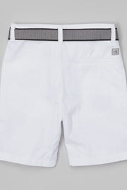 Calvin Klein Jeans Boys Belted Shorts - Front full body